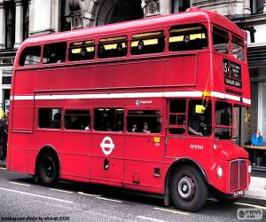 Puzzle de Autobús Londres