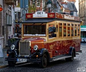 Puzzle de Autobús vinatge