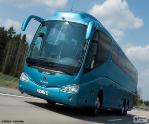 Puzzle de Autobús de lujo