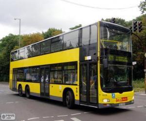 Puzzle de Autobus MAN Lion's City