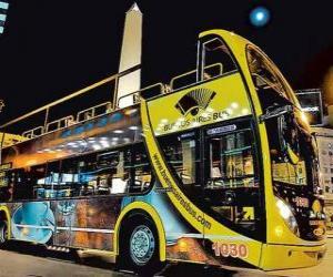 Puzzle de Autobus turistico Buenos Aires