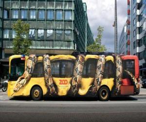 Puzzle de Autobus urbano, de Copenhague