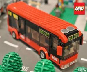 Puzzle de Autobus urbano de Lego