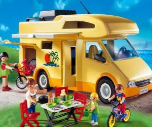 Puzzle de Autocaravana Playmobil