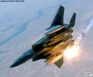 Puzzle de Avión de combate