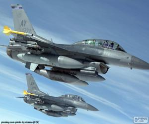 Puzzle de Aviones militares