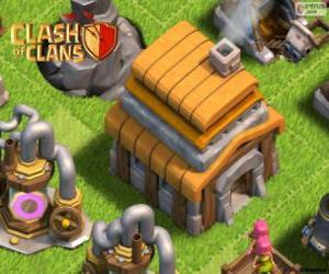 Puzzle de Ayuntamiento 5, Clash of Clans