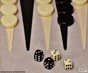 Puzzle de Backgammon