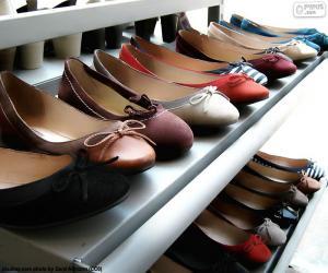 Puzzle de Bailarinas, zapato