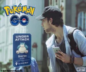Puzzle de Bajo ataque, Pokémon GO