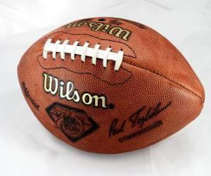 Puzzle de Balón de fútbol americano