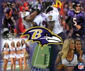 Puzzle de Baltimore Ravens