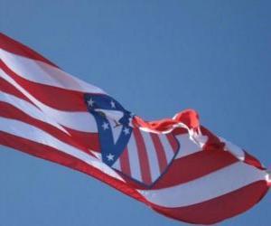 Puzzle de Bandera Atlético de Madrid