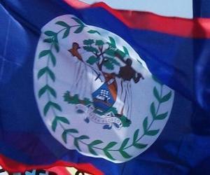 Puzzle de Bandera de Belice