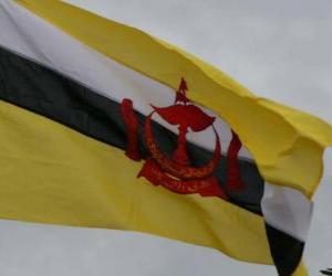 Puzzle de Bandera de Brunei