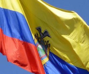 Puzzle de Bandera de Ecuador