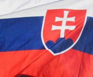 Puzzle de Bandera de Eslovaquia
