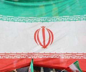 Puzzle de Bandera de Irán