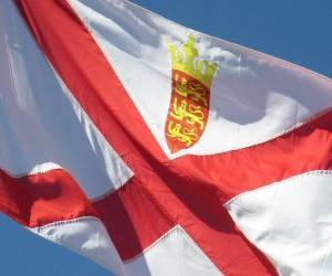 Puzzle de Bandera de Jersey