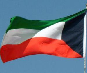 Puzzle de Bandera de Kuwait