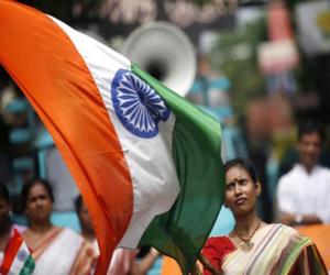 Puzzle de Bandera de la India