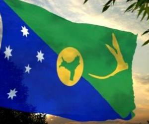 Puzzle de Bandera de la Isla de Navidad