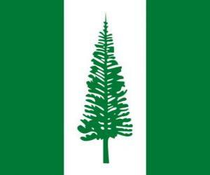 Puzzle de Bandera de la Isla Norfolk