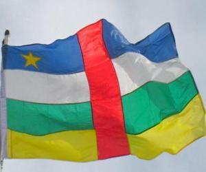 Puzzle de Bandera de la República Centroafricana