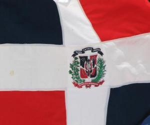 Puzzle de Bandera de la República Dominicana