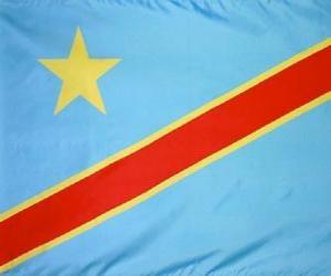 Puzzle de Bandera de la República Democrática del Congo