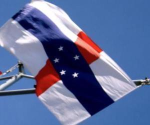 Puzzle de Bandera de las Antillas Holandesas