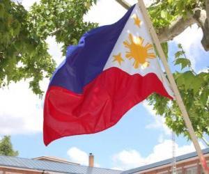 Puzzle de Bandera de las Filipinas