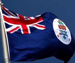 Puzzle de Bandera de las Islas Caiman