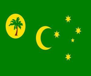 Puzzle de Bandera de las Islas Cocos