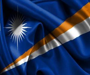 Puzzle de Bandera de las Islas Marshall