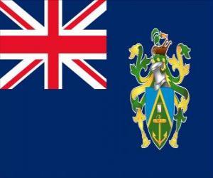 Puzzle de Bandera de las Islas Pitcairn