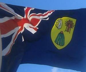 Puzzle de Bandera de las Islas Turcas y Caicos