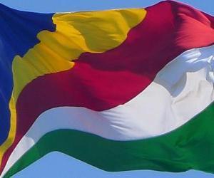 Puzzle de Bandera de las Seychelles