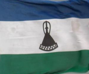 Puzzle de Bandera de Lesoto