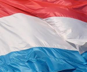 Puzzle de Bandera de Luxemburgo