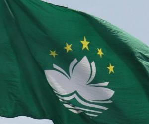 Puzzle de Bandera de Macao