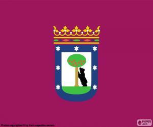 Puzzle de Bandera de Madrid