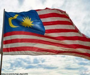 Puzzle de Bandera de Malasia