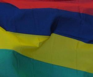 Puzzle de Bandera de Mauricio