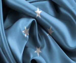 Puzzle de Bandera de Micronesia