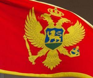 Puzzle de Bandera de Montenegro