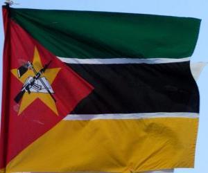 Puzzle de Bandera de Mozambique