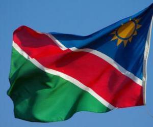 Puzzle de Bandera de Namibia