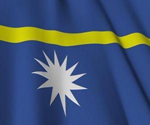 Puzzle de Bandera de Nauru