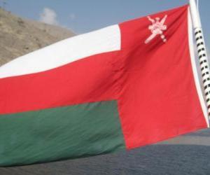 Puzzle de Bandera de Omán